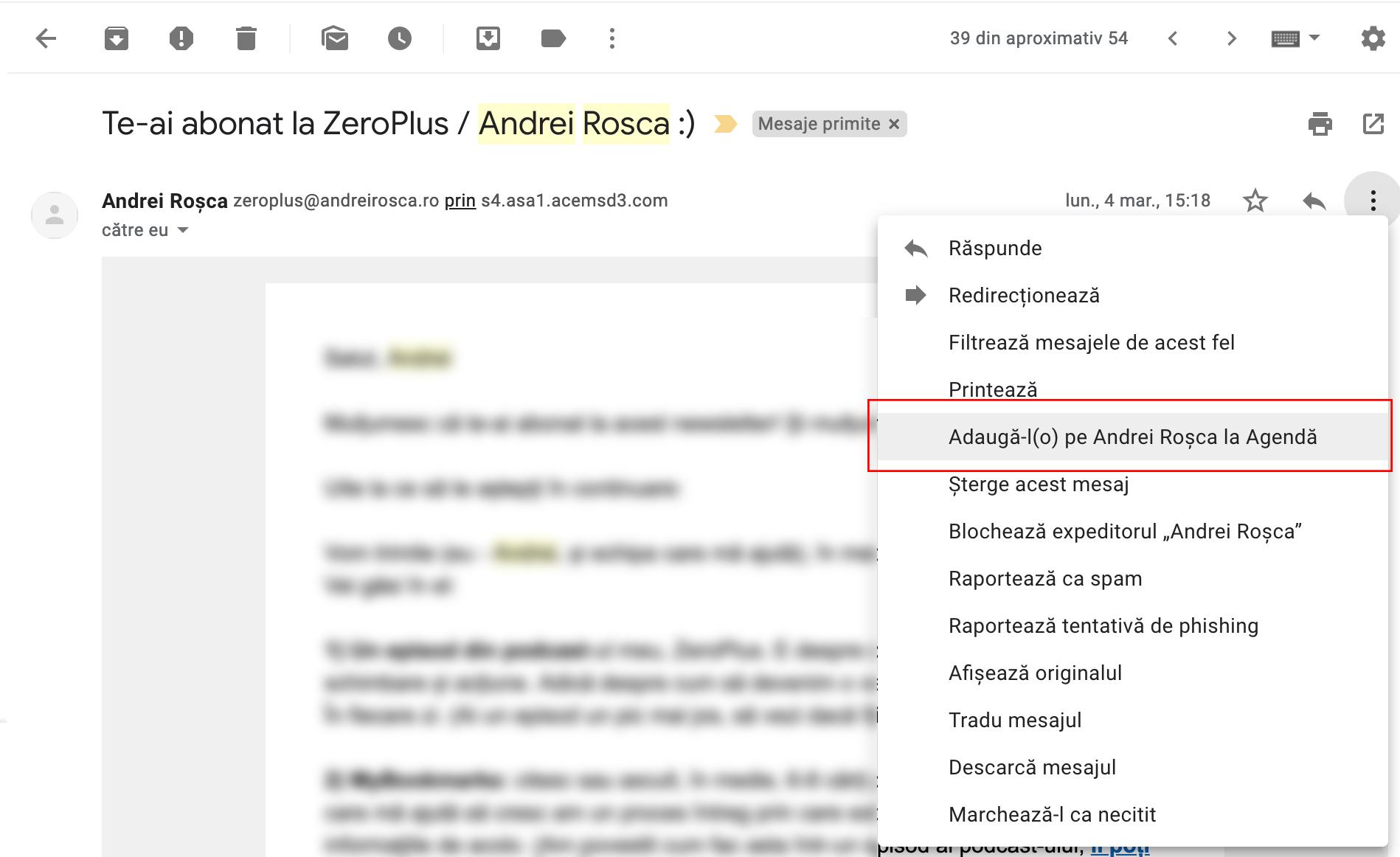 pierdere în greutate e mailuri spam)
