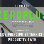 50 de principii si tehnici de productivitate